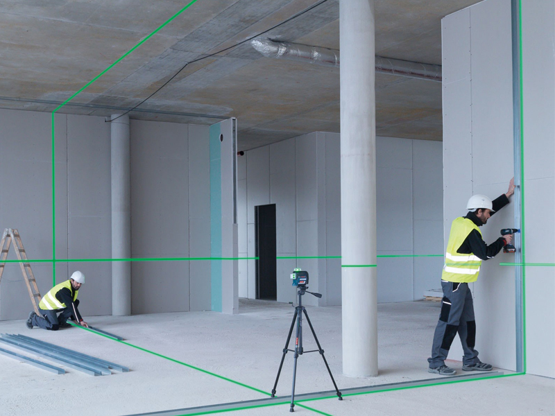 Product Test: Bosch Professional Cordless Green Line Laser Level