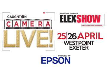 Take Part in Caught on Camera Live! at ELEX Exeter