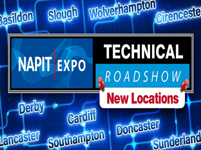 10 More Dates and Locations Released for NAPIT EXPO Technical Roadshows