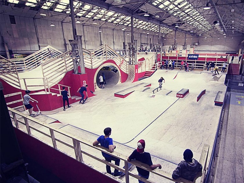 Tansun Ramps up the Heat for Skate Park
