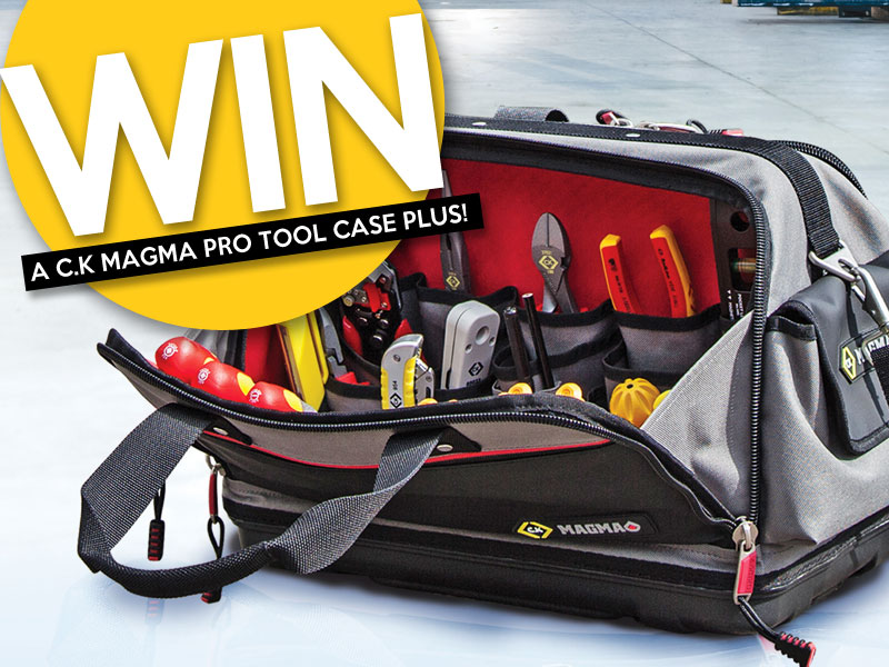 WIN – 5 C.K. Magma Pro Tool Case Plus Bags To Be Won