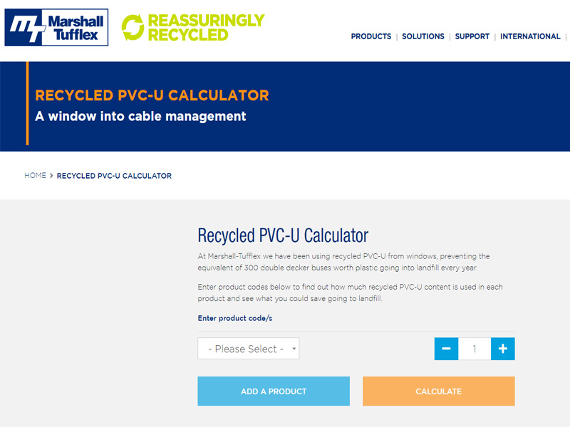 Marshall-Tufflex Launches Recycling Calculator