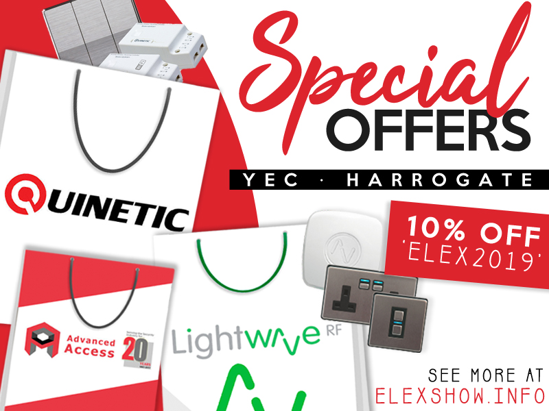 Make the most of the ELEX Harrogate's offers