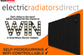 WIN a brand new SmartWave Anthracite radiators at Elex Harrogate