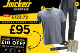 Save Up To 30% On An Essential Snickers Workwear Bundle