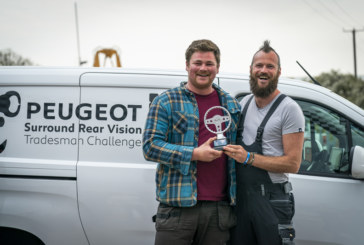 WATCH: Battle of the trades in the Peugeot driving challenge