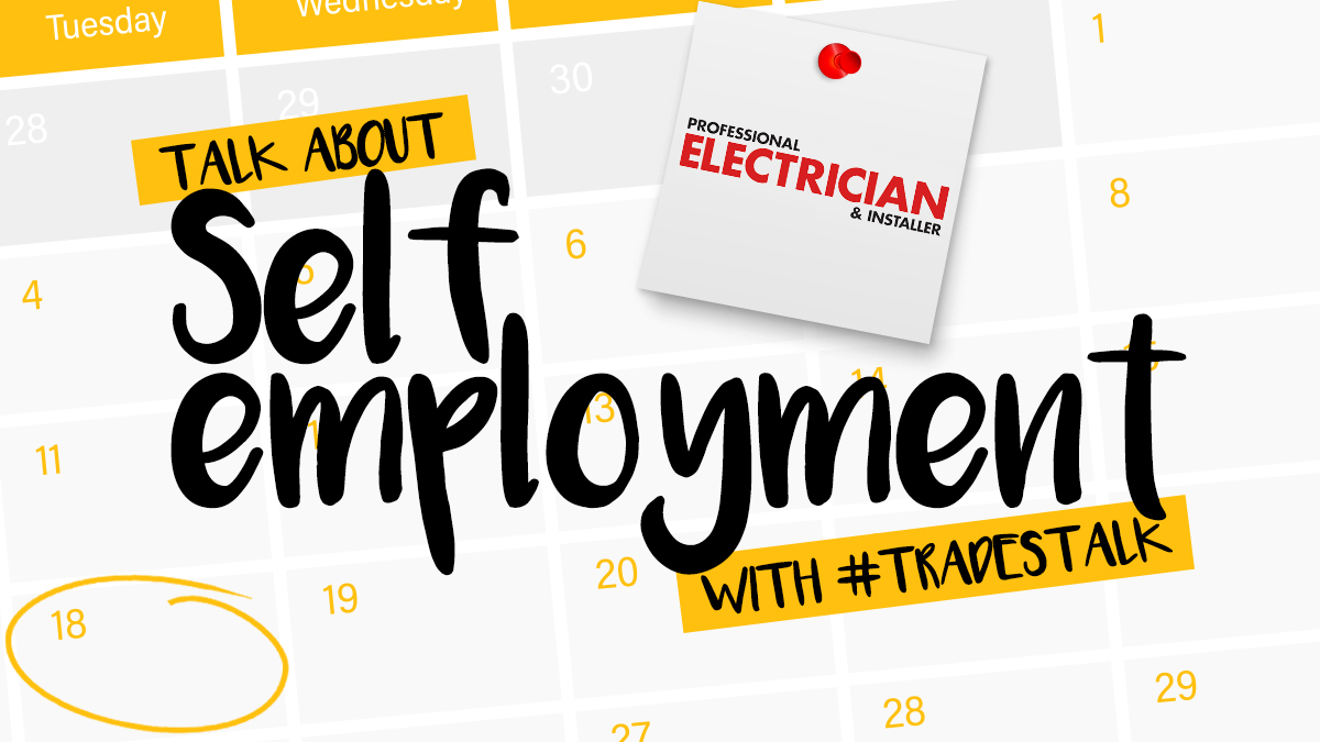 Being a self-employed tradesperson