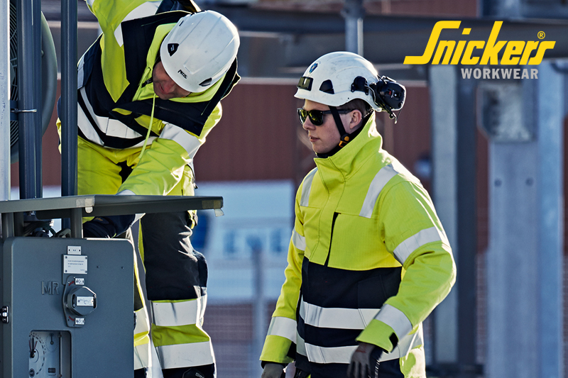 The NEW ProtecWork Protective Clothing From Snickers Workwear