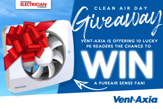 Vent-Axia supports Clean Air Day with Giveaway