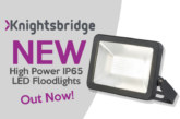 Knightsbridge launch NEW High Power IP65 LED Floodlights