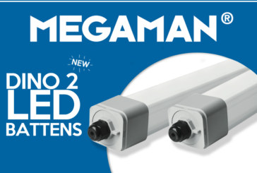 Megaman launches new version of Dino 2 LED Battens