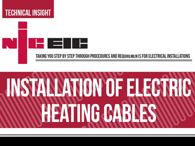 Installation Of Electric Heating Cables