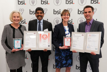 BSI recognises CP Electronics' quality with long service awards