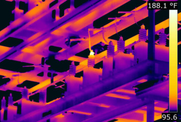 FLIR thermal scan saves substation