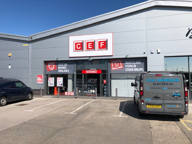 New and improved CEF store opens in Bishop Auckland hotspot