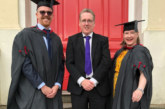 The LIA celebrate the first graduates on HNC course