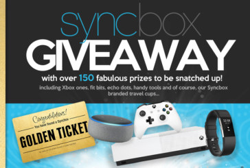 Syncbox Golden Ticket Giveaway!