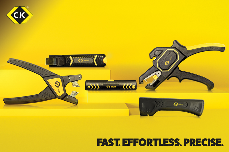 New Cable and Wire Stripping Tools from C.K Tools