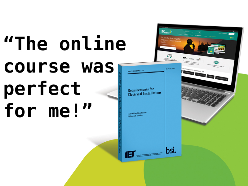 Product Test: IET online 18th Edition training