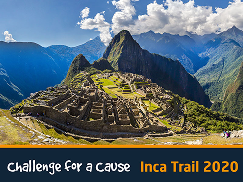 Explore the magical Inca trail with EIC's Challenge for a Cause 2020