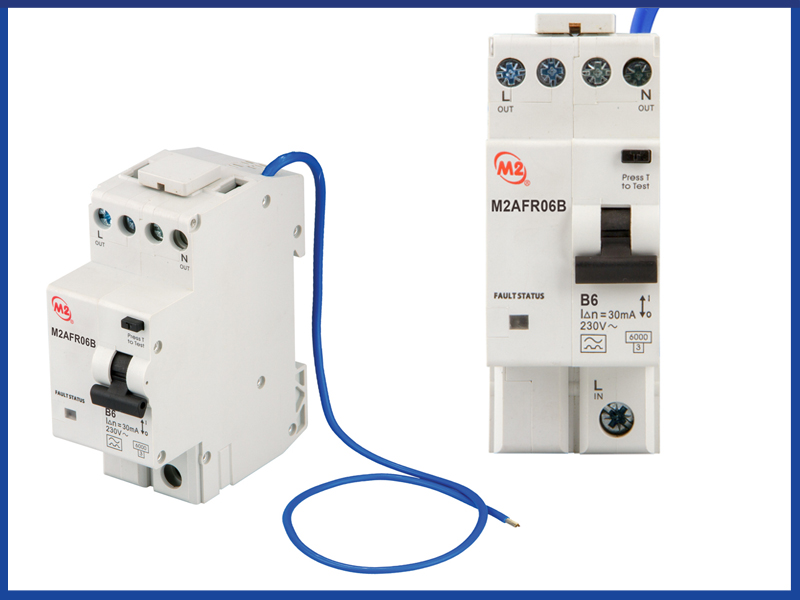M2 launches combined AFDD & RCBO