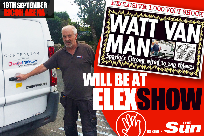 Meet the man with the Electrified Van at ELEX Coventry