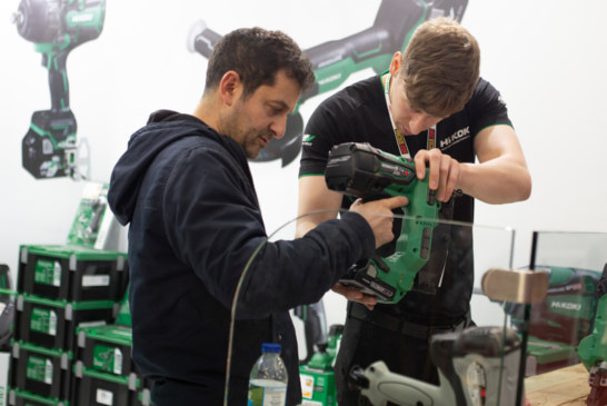 ToolFair Trade In, Trade Up! HiKOKI's exclusive trade at ToolFair Coventry