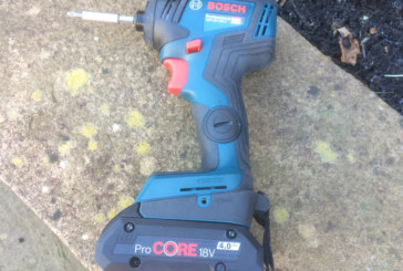 Product Test: Bosch GDR 18V-200 C Professional Impact Driver and ProCORE batteries