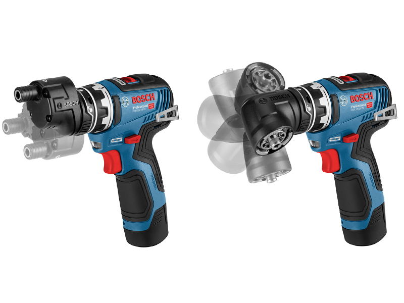Bosch Professional FlexiClick 12V – now with brushless motor