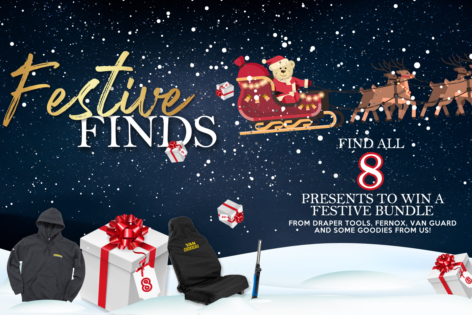WIN a Festive Bundle this Christmas