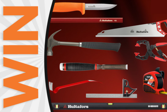WIN a Complete Set of Hand Tools from Hultafors Tools