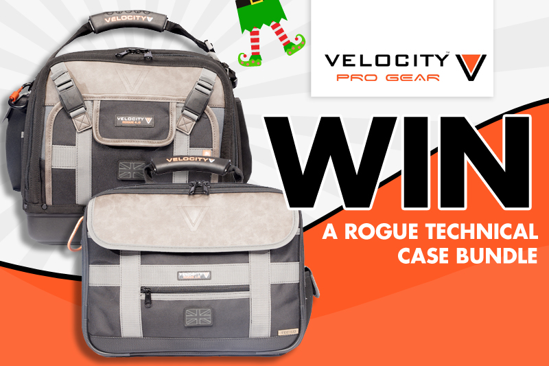 WIN a Rogue Technical Case Bundle from Velocity Progear