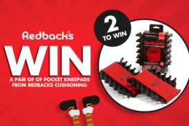 WIN a pair of Pocket Kneepads from Redbacks Cushioning