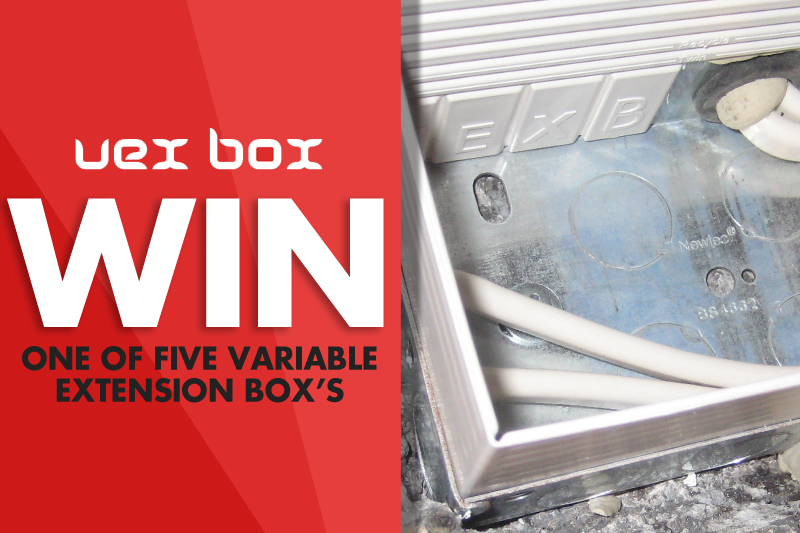 WIN a Variable Extension Box from Vexbox