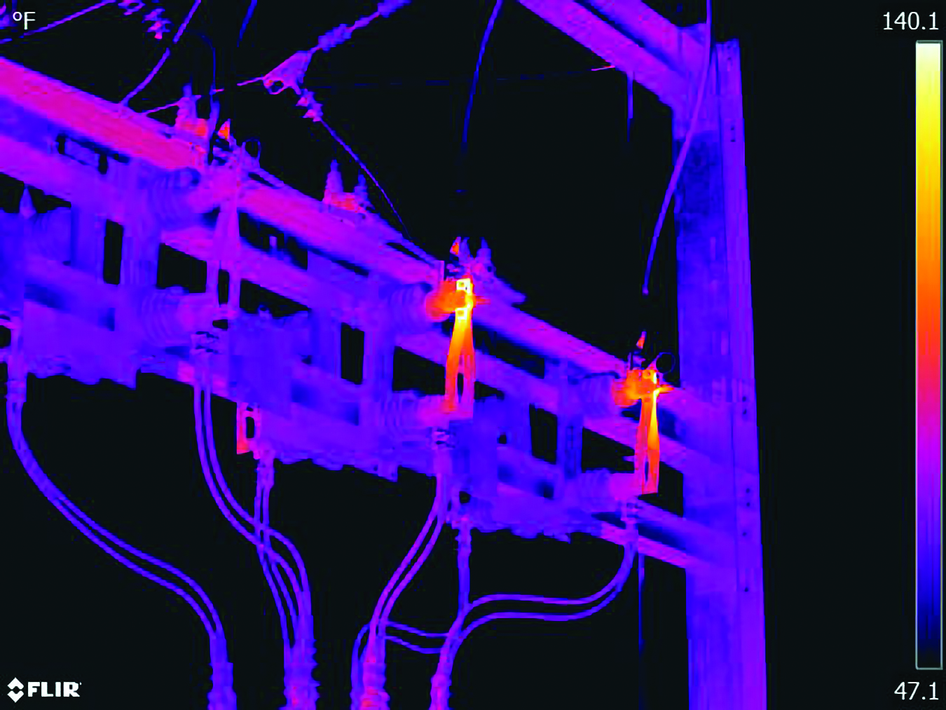 Predicting substation failures with thermal imaging