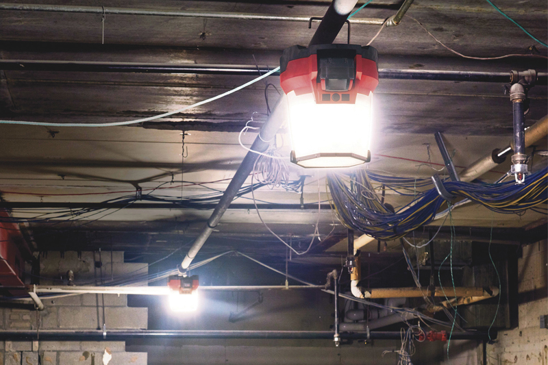 Temporary electrical installations on construction and demolition sites