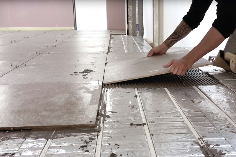Don't be floored by underfloor heating