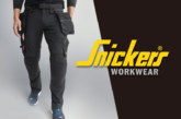 Snickers introduce new LiteWork stretch trousers