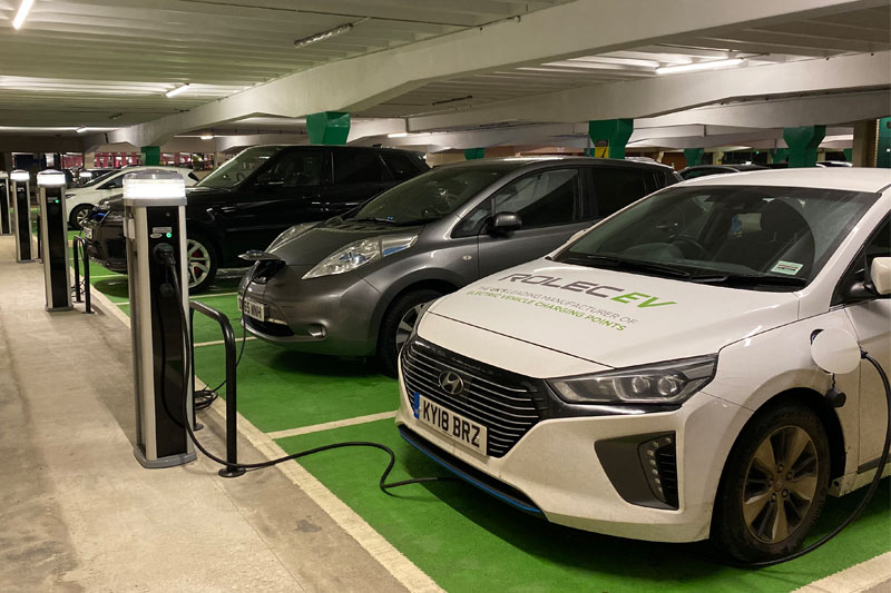 Motoring forward with EV trade show