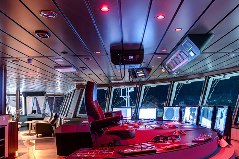Glamox supplies lighting to the world's largest wellboat