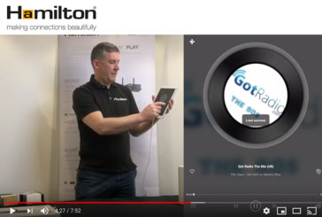 WATCH: Setting up the appio WMS-1 speaker on the Hamilton player app
