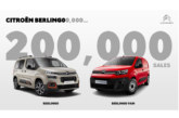 Citroen Berlingo tops 200,000 sales