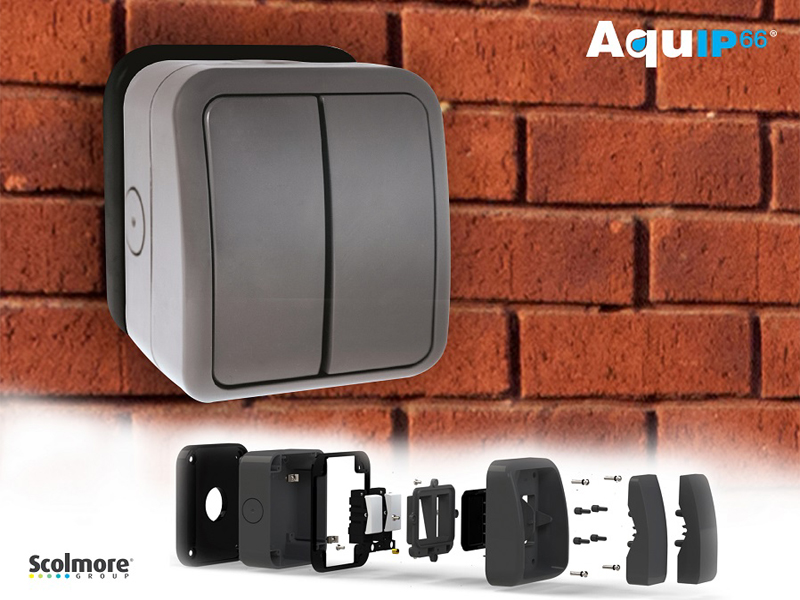 Scolmore's new Aquip66 additions offer 20A switching
