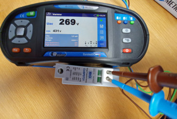 Surge protection devices: can you check them using a MFT?   Metrel