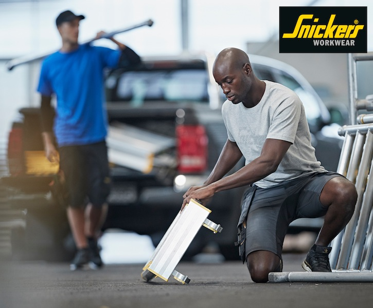 Snickers Workwear launches Stretch Work Shorts