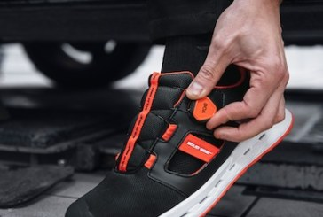 Slip into Solid Gear safety shoes