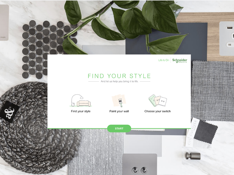 'Find Your Style' with new Schneider Electric tool