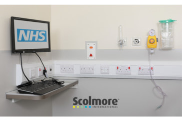 Scolmore helps with infection control at new hospital unit
