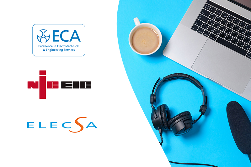 NICEIC and ELECSA partner with ECA to deliver free industry webinar on furlough scheme