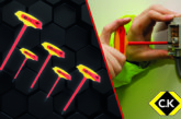 C.K Strengthens its Popular Range of Insulated T-Handle Hex Keys
